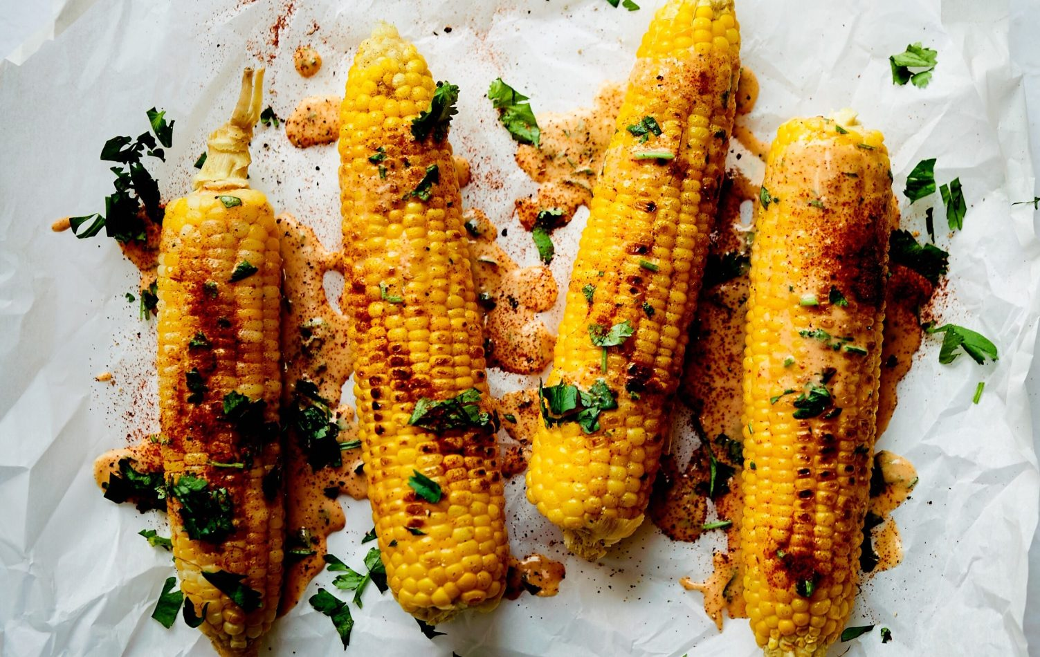 This Mexican corn, is also coconut corn, or roasted corn, or called roasted Mexican corn that's dairy free.