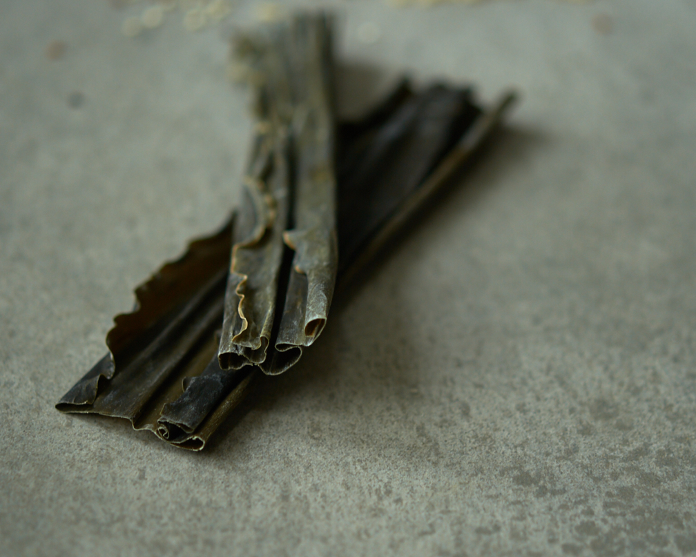 This is what kombu looks like. How to cook with kombu? What is kombu?