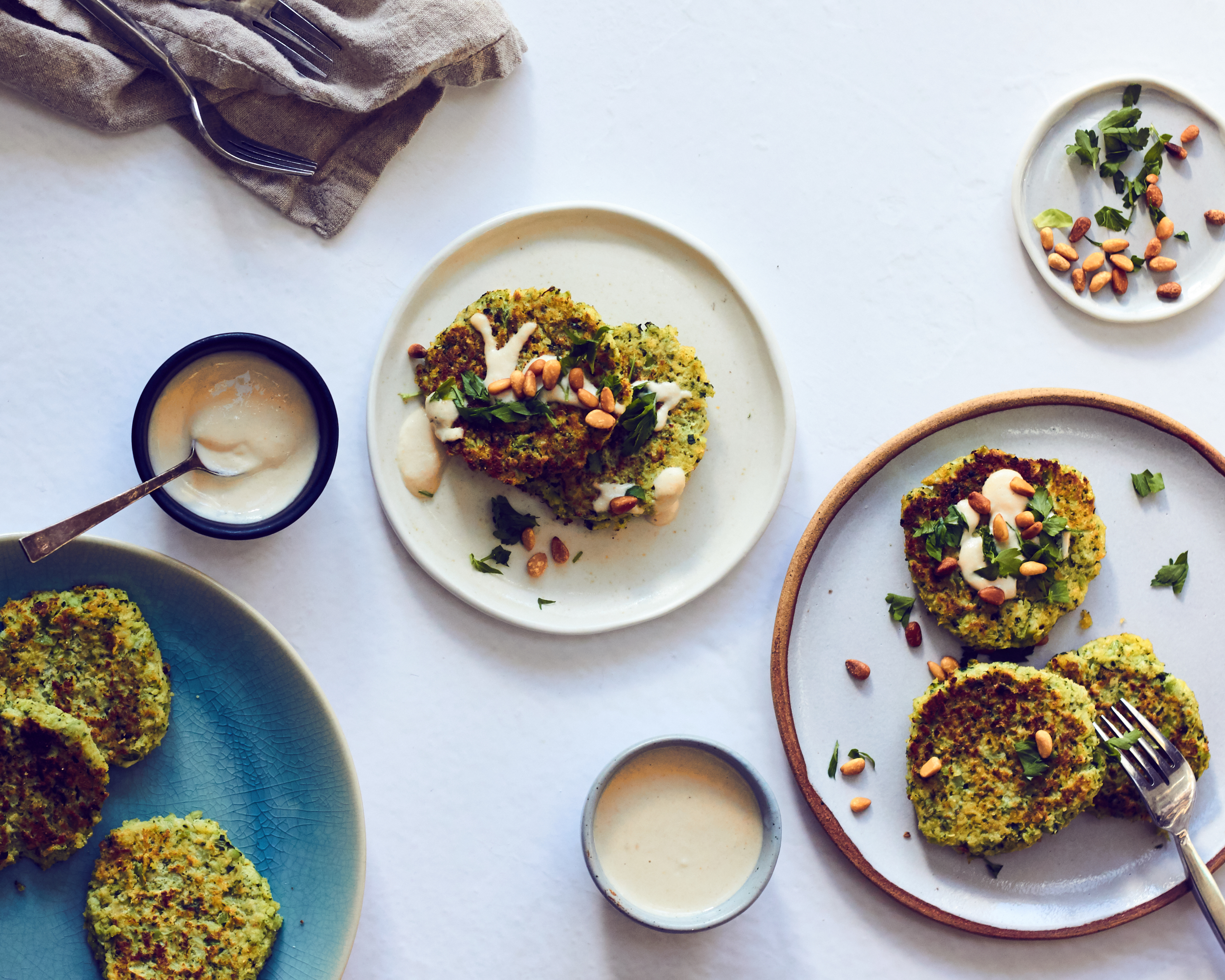 These broccoli fritters are gluten fee and grain free and paleo.