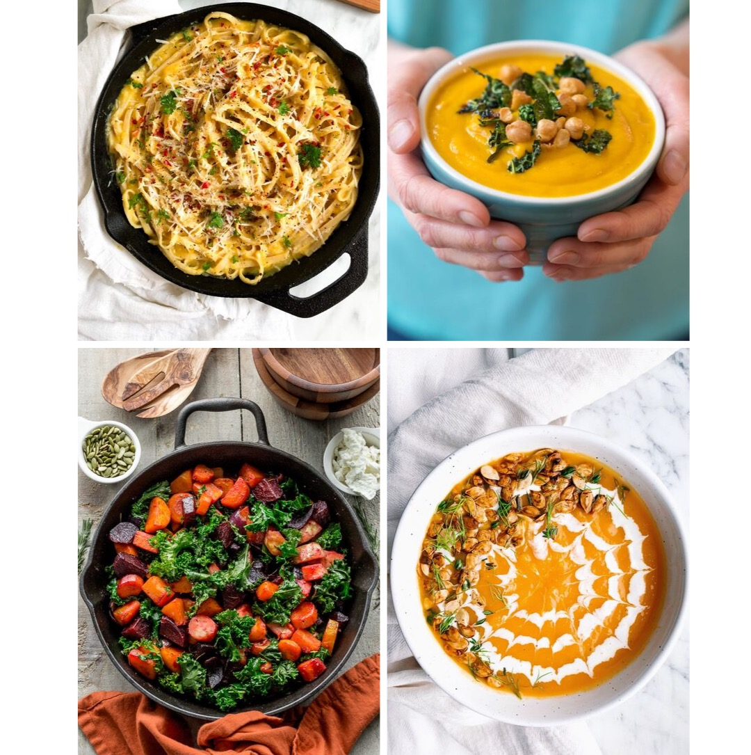 15 healthy and easy butternut squash recipes