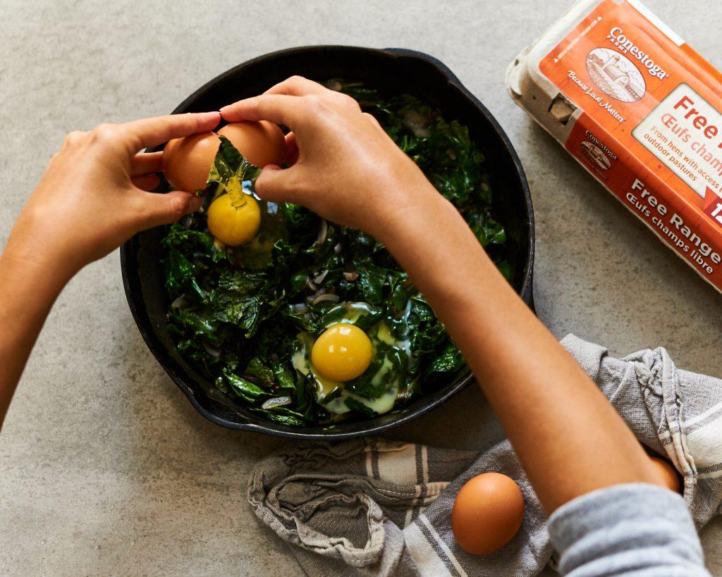 Living Kitchen Conestoga Eggs Green Shakshuka 3